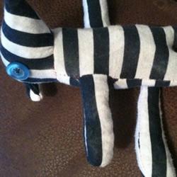 旧手套手工DIY小熊玩偶的教程