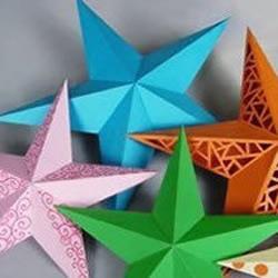 星星/五角星/海星的纸艺教程
