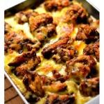 脆皮鸡块咖喱奶酪焗饭的做法