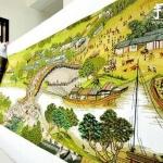 巨幅《清明上河图》十字绣 耗时3年完成