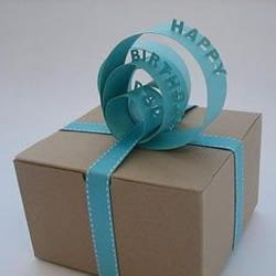手工制作礼物包装带的图解教程