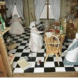 贵族式童心未泯:手工制作的欧洲古董玩具屋