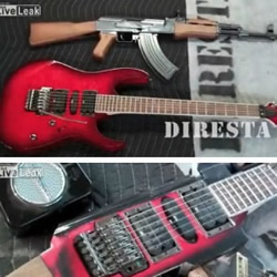 自制AK-47电吉他DIY教程