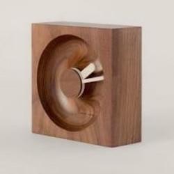 天然木制时钟O'Clock