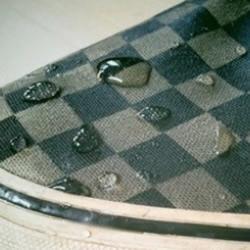 自制防水帆布鞋的方法