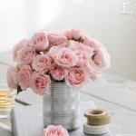 铁皮罐头废物利用DIY花瓶的教程
