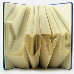 纯手工折纸LOVE 笔记本