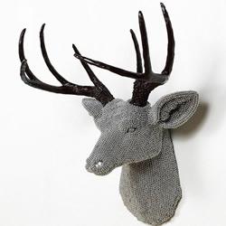 利用BB枪子弹DIY的鹿头