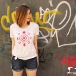 白T恤改造个性T恤的教程