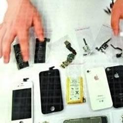 牛人购买完整手机配件 DIY全新iPhone4手机