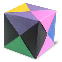 三角插原理制作组合立方体教程