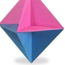八面体折纸教程