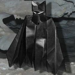 折纸蝙蝠侠教程