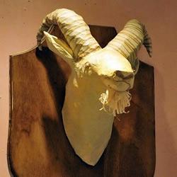动物头像折纸作品欣赏