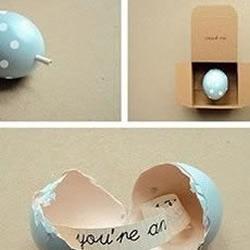 蛋壳手工礼物的创意手工DIY方法