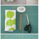 手工布艺制作漂亮笔袋的教程