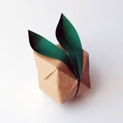 折纸兔子的教程