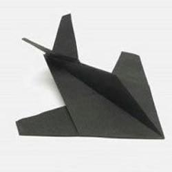 折隐形飞机的教程
