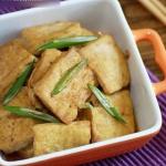 DIY大葱烧豆腐的教程