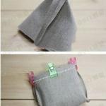 复古零钱包的手工布艺制作教程