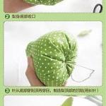 绿色清新梨子的手工制作教程