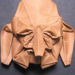 Phillip West的人物脸部造型折纸