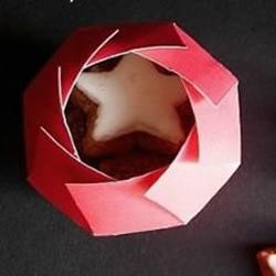 一次性纸杯剪纸制作礼物盒的教程