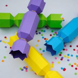 漂亮可爱的糖果包装盒制作方法