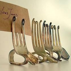 金属叉子制作有趣小物件的方法