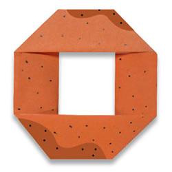 甜甜圈的手工折纸方法