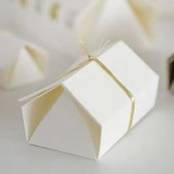 小礼盒包装的折纸教程