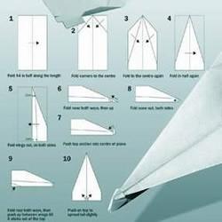 <font color='#FF6633'>最完美的纸飞机折纸方法</font>
