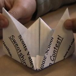 纸船的折纸方法
