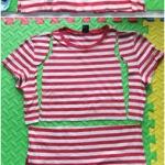 大人旧T恤剪裁改制成小孩T恤的教程