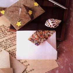 简单的信封折纸方法