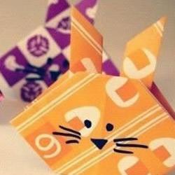 小兔子手工折纸教程