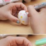 鸡蛋手工绘画的方法