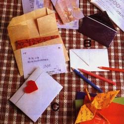信封的手工折纸方法