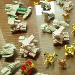 星际争霸达人的折纸作品