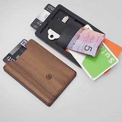 木材制作的钱包