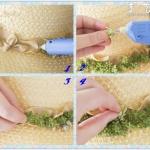 多肉植物DIY制作草帽