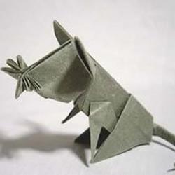 可爱老鼠的手工折纸方法