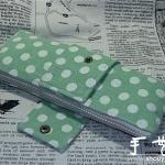 蝴蝶结笔袋的制作方法