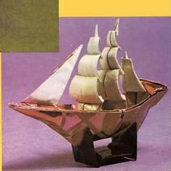 帆船折纸方法