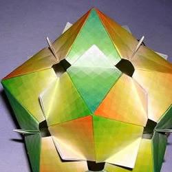 复杂万花筒折纸作品欣赏