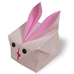 小兔子盒子折纸图解教程