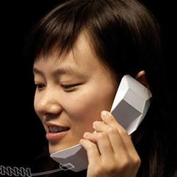 创意立体折纸电话