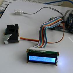自制Arduino检测器关注空气质量