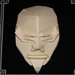 脸谱折纸作品欣赏