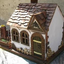 DIY袖珍房屋模型放置针线用具